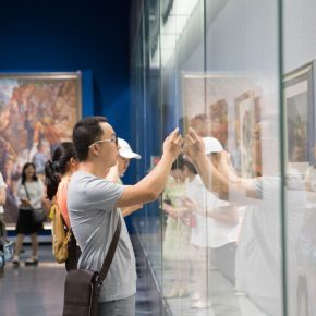 "13 Installation view of the exhibition 290x290 - The Second Exhibition of ""Xu Beihong and His Times"" Opened at Inner Mongolia Art Museum"