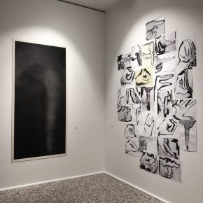 19 Exhibition View of Just Now 290x290 - Just Now—Contemporary Images and Ink Painting Conception: Cai Guangbin Solo Exhibition was successfully unveiled in Venice