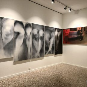 21 Exhibition View of Just Now 290x290 - Just Now—Contemporary Images and Ink Painting Conception: Cai Guangbin Solo Exhibition was successfully unveiled in Venice