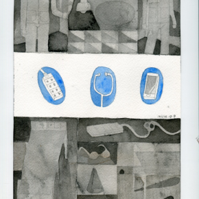 Mi Jie Untitled 3 290x290 - CAI COLLECTION of WORKS (For Edinburgh Art Fair 2018)