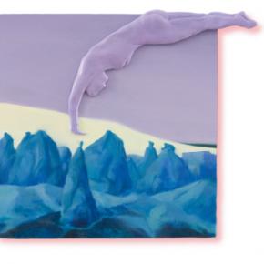 Sun Yitian Violet desert 290x290 - CAI COLLECTION of WORKS (For Edinburgh Art Fair 2018)