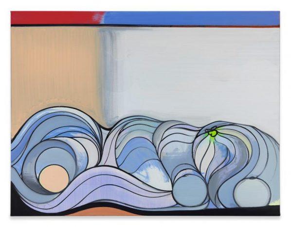 "Thomas Scheibitz Pulp 2017 Oil Vinyl Pigment 1 Marker on Canvas 130x170cm 598x468 - The Guangdong Museum of Art presents ""PAINTING AFTER PAINTING AFTER PAINTING AFTER"" in Guangzhou"