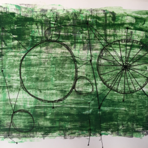 Wang Jing No.2 alien civilization 290x290 - CAI COLLECTION of WORKS (For Edinburgh Art Fair 2018)