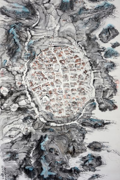 "featured image of Qiu Zhijie 399x598 - UCCA will present ""Qiu Zhijie: Mappa Mundi"" reflecting his myriad identities"