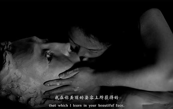 "00 featured image of Geng Xue The Poetry of Michelangelo video screenshot - Rethinking the Sensuous Noumenon Value of Art: ""EMPATHY"" the First Large-Scale Sculptural Exhibition Opened at the Song Art Museum"