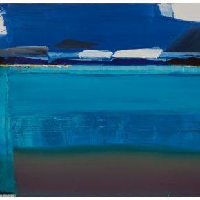 101 Liu Shangying, Lake Manasarovar 26, oil on canvas, 160 x 240 cm, 2014