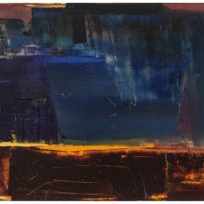 102 Liu Shangying, Lake Manasarovar 27, oil on canvas, 160 x 240 cm, 2014