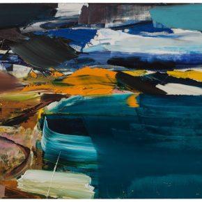 104 Liu Shangying, Lake Manasarovar 29, oil on canvas, 160 x 240 cm, 2014