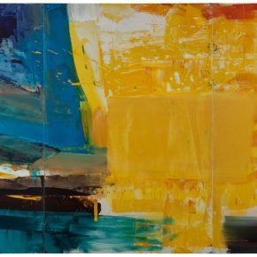 105 Liu Shangying, Lake Manasarovar 30, oil on canvas, 240 x 480 cm, 2014