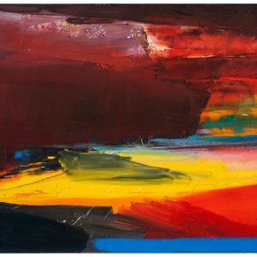 109 Liu Shangying, Lake Manasarovar 34, oil on canvas, 160 x 240 cm, 2014