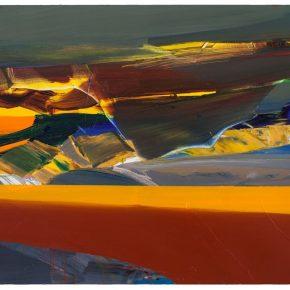 110 Liu Shangying, Lake Manasarovar 35, oil on canvas, 100 x 160 cm, 2014
