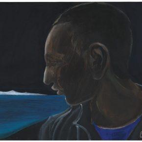 112 Liu Shangying, The Lakeside Boy, acrylic on canvas, 75 x 100 cm, 2012