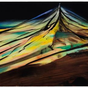 115 Liu Shangying, The Mountain of Banners, oil on canvas, 100 x 160 cm, 2012