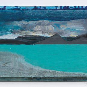 117 Liu Shangying, Tibet Series No.2, 9, acrylic on wooden board, 25 x 35 cm, 2012