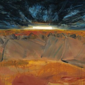 119 Liu Shangying, Sunset in the Forest of Land, oil on canvas, 135 x 200 cm, 2012