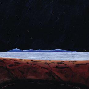 121 Liu Shangying, A Starry Sky, acrylic on canvas, 135 x 200 cm, 2012
