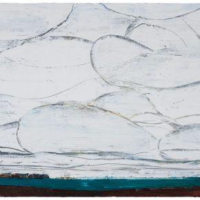 123 Liu Shangying, The Rhythm of the Cloud, oil on canvas, 100 x 160 cm, 2014