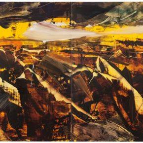 124 Liu Shangying, Zadar No.1, oil on canvas, 240 x 640 cm, 2014