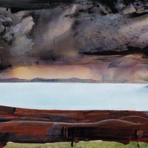 126 Liu Shangying, Holy Lake, acrylic on canvas, 135 x 200 cm, 2011