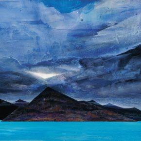 130 Liu Shangying, Blue Water, acrylic on canvas, 135 x 200 cm, 2011