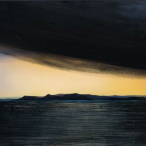 132 Liu Shangying, Lake Manasarovar, acrylic on canvas, 135 x 200 cm, 2011