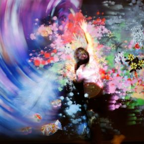 15 Exhibition View 290x290 - EmergingLand: An Unconventional Display by teamLab and 17 Artists