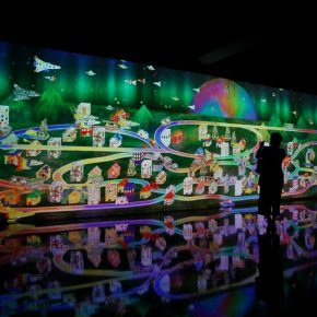 24 Exhibition View 290x290 - EmergingLand: An Unconventional Display by teamLab and 17 Artists