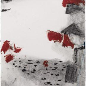 42 Liu Shangying, Changshu 81, charcoal and oil on paper, 54 x 39 cm, 2016