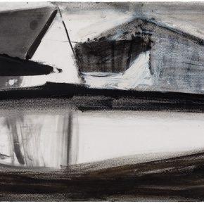 43 Liu Shangying, Changshu 66, charcoal and acrylic on paper, 39 x 54 cm, 2016