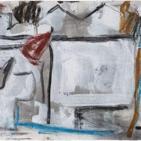 44 Liu Shangying, Changshu 65, charcoal, acrylic and oil on paper, 39 x 54 cm, 2016