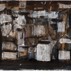 46 Liu Shangying, Changshu 54, charcoal, acrylic and oil on paper, 39 x 54 cm, 2016