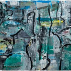 47 Liu Shangying, Changshu 51, oil on canvas, 100 x 320 cm, 2016