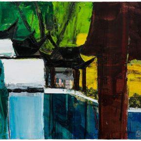 66 Liu Shangying, Changshu 7, oil on canvas, 80 x 100 cm, 2016