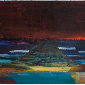 73 Liu Shangying, Lhanag-tso, oil on canvas, 100 x 160 cm, 2014
