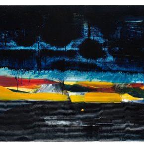 79 Liu Shangying, Lake Manasarovar 3, oil on canvas, 135 x 200 cm, 2013