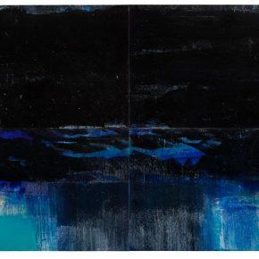 83 Liu Shangying, Lake Manasarovar 7, oil on canvas, 270 x 400 cm, 2013