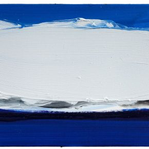 84 Liu Shangying, Lake Manasarovar 8, oil on canvas, 40 x 60 cm, 201