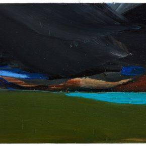 86 Liu Shangying, Lake Manasarovar 10, oil on canvas, 40 x 60 cm, 2013