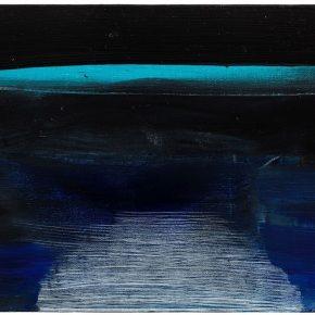 88 Liu Shangying, Lake Manasarovar 12, oil on canvas, 40 x 60 cm, 2013