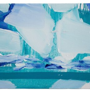90 Liu Shangying, Lake Manasarovar 14, oil on canvas, 40 x 60 cm, 2013