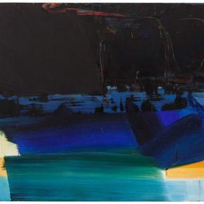 95 Liu Shangying, Lake Manasarovar 20, oil on canvas, 160 x 240 cm, 2014