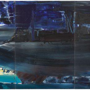 97 Liu Shangying, Lake Manasarovar 22, oil on canvas, 240 x 480 cm, 2014