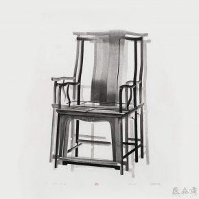"Chen Qi 2015 5 2015 Woodblock printing 97x97cm 290x290 - Asia Art Center announces ""Imprint · Plurality – Solo Exhibition of Chen Qi"""