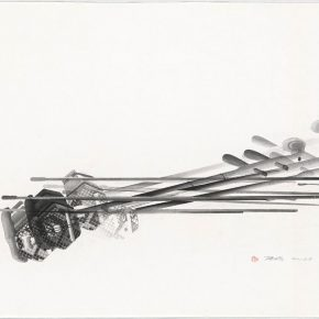 """Chen Qi Mental Imagery No. 2 2015 Woodblock printing 90x120cm 290x290 - Asia Art Center announces """"Imprint · Plurality – Solo Exhibition of Chen Qi"""""""
