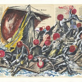 "Sun Xun The Raft of the Medusa 290x290 - ShanghART Beijing presents ""White Flash"" featuring works by 22 artists"