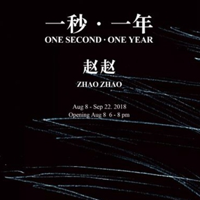 "Tang Contemporary Art announces Zhao Zhao's ""One Second • One Year"" opening on August 8"