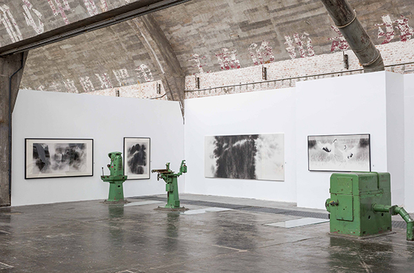 00 featured image of Installation View of the Exhibition - Zhuo Min: What Are the Different Results Brought by Ink and Wash from an Overseas Perspective?