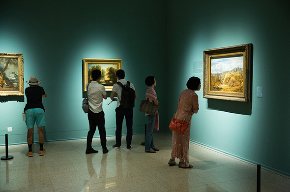 00 featured image of Installation View - Three Hundred Years of British Landscape Painting: Masterpieces from Tate Britain are on show at the National Art Museum of China