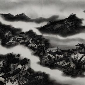 02 Chen Ping Sketch of Sichuan Province No. 2 2012 Ink and wash on paper 64x45cm 290x290 - The Exhibition of Postgraduate and Doctoral Supervisors from CAFA will be unveiled on September 5