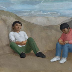 02 Duan Jianwei, Taking a Rest, oil on canvas, 130 × 160 cm, 2016